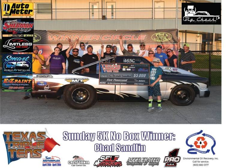 Chad Sandlin wins Texas Triple Tens 042819