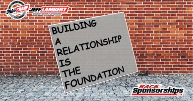 Race Sponsorships with Jeff Lambert April 2019