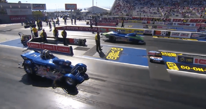 Super Gas Final 2018 Four Wide Nationals at Las Vegas