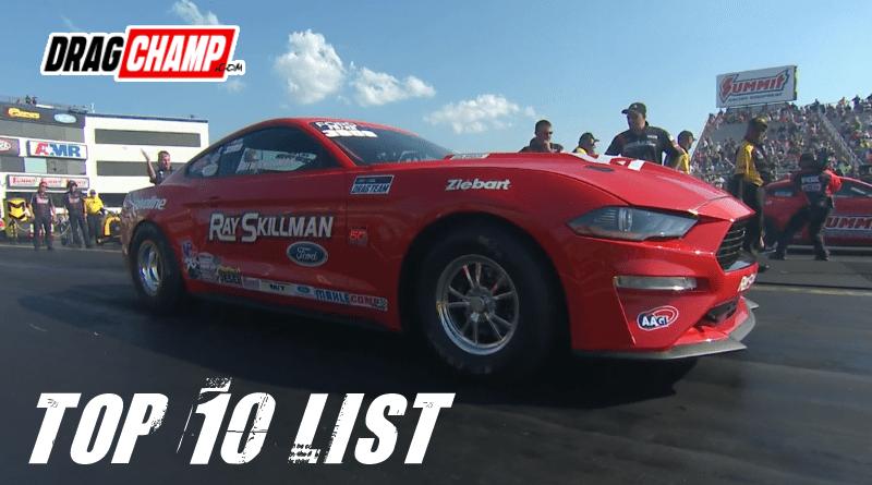 DragChamp Top Ten List 5-23-19