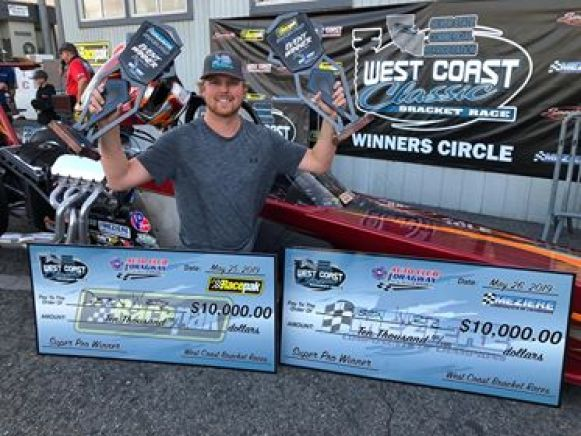 Duston Wurtz 2019 West Coast Classic winner and runner up