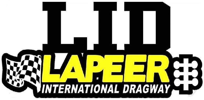 Lapeer International Dragway Logo