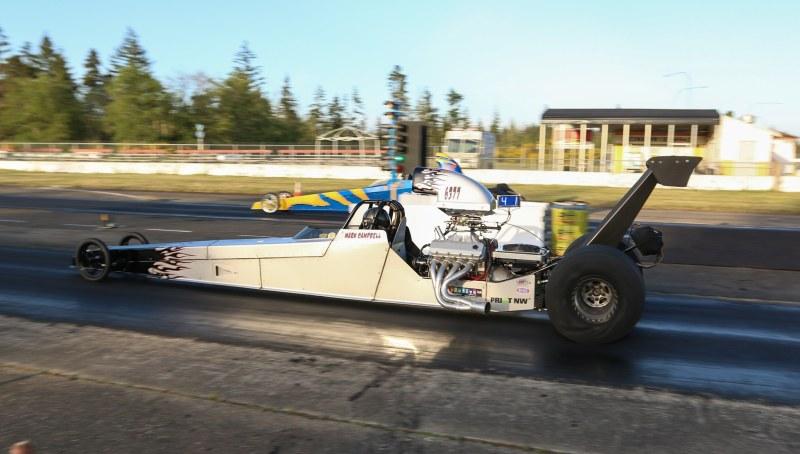 Mark Campbell drag racing