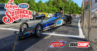 NHRA Southern Nationals Saturday Sportsman Race Results