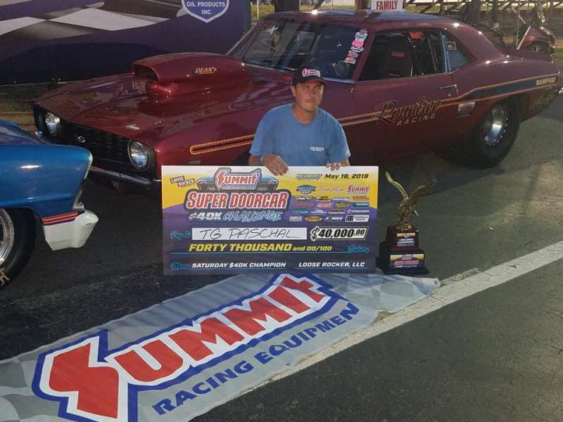 TG Paschal Super Doorcar 40k main event winner