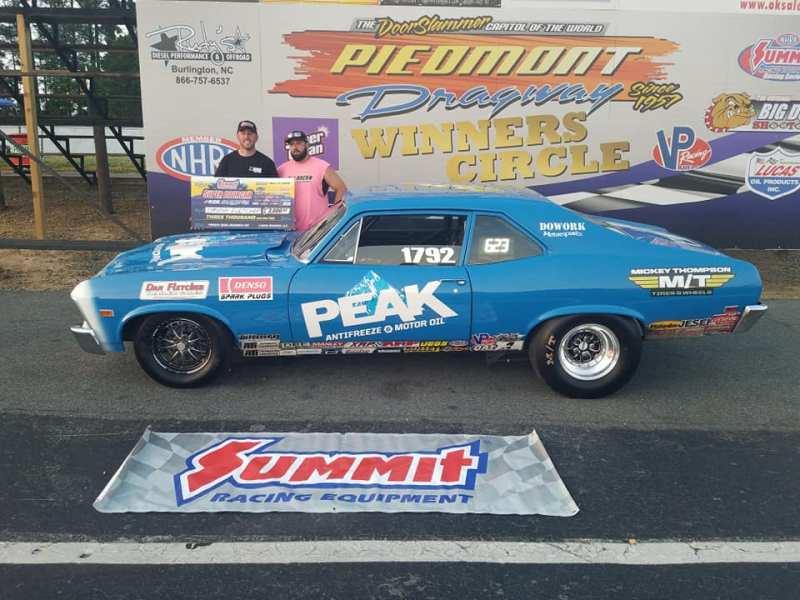 Timothy Flethcher Friday 10k runner up Super Doorcar Challenge
