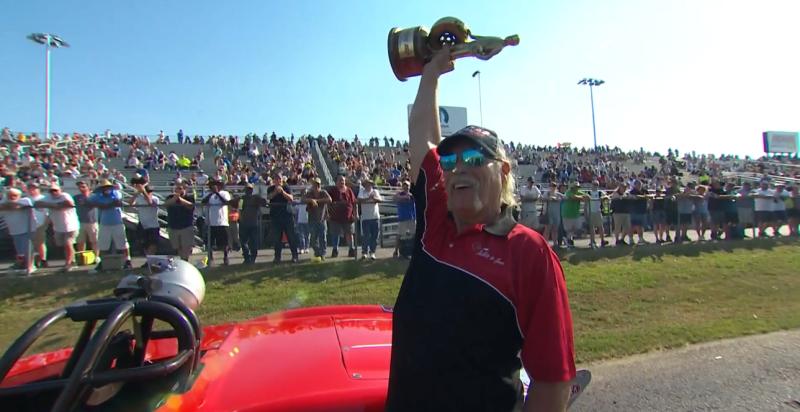 Tom Goldman 2019 NHRA Virginia Nationals Super Gas Champ