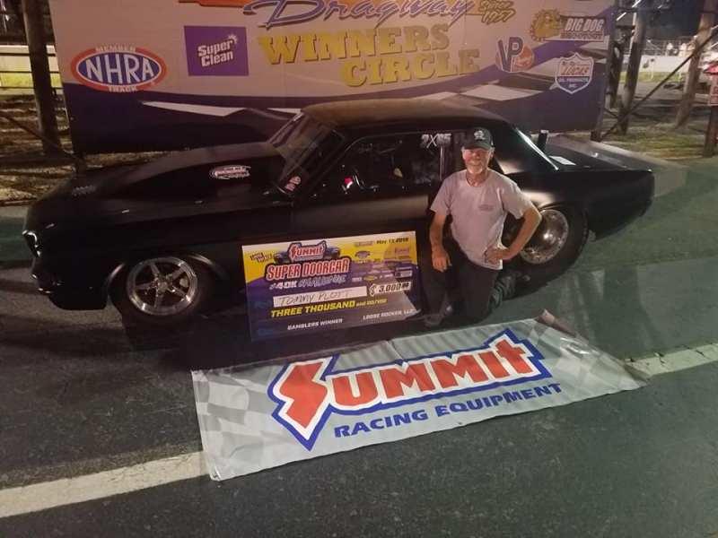 Tommy Plott Friday Gamblers Winner Super Doorcar Challenge