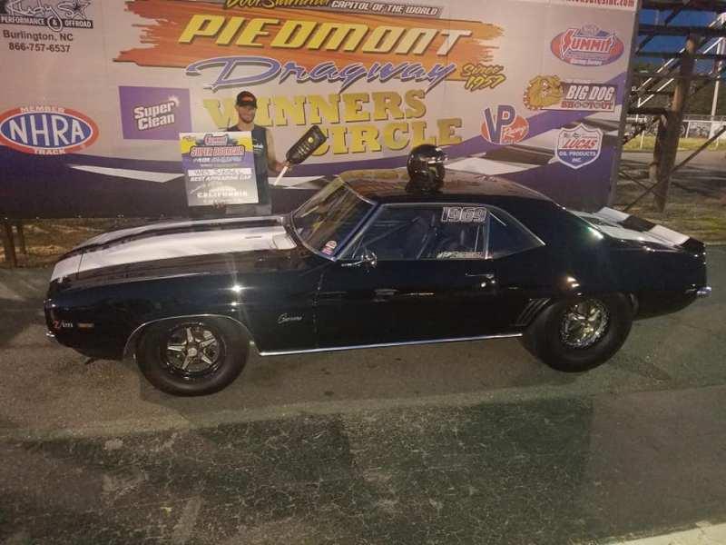Wes Siegel Best appearing car Super Doorcar Challenge