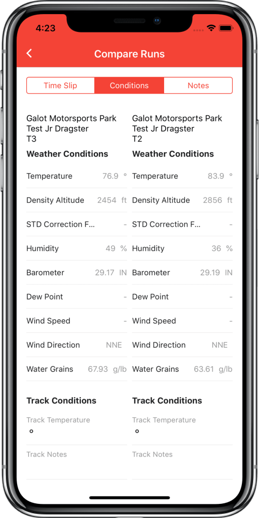 DragTuner compare-runs_weather