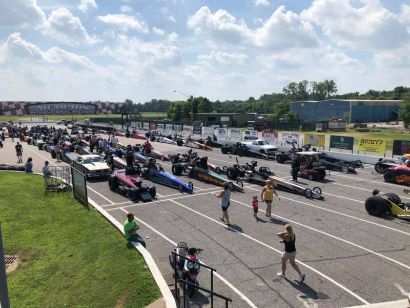 2019 GABR Staging Lanes - Luke Siebert Photo