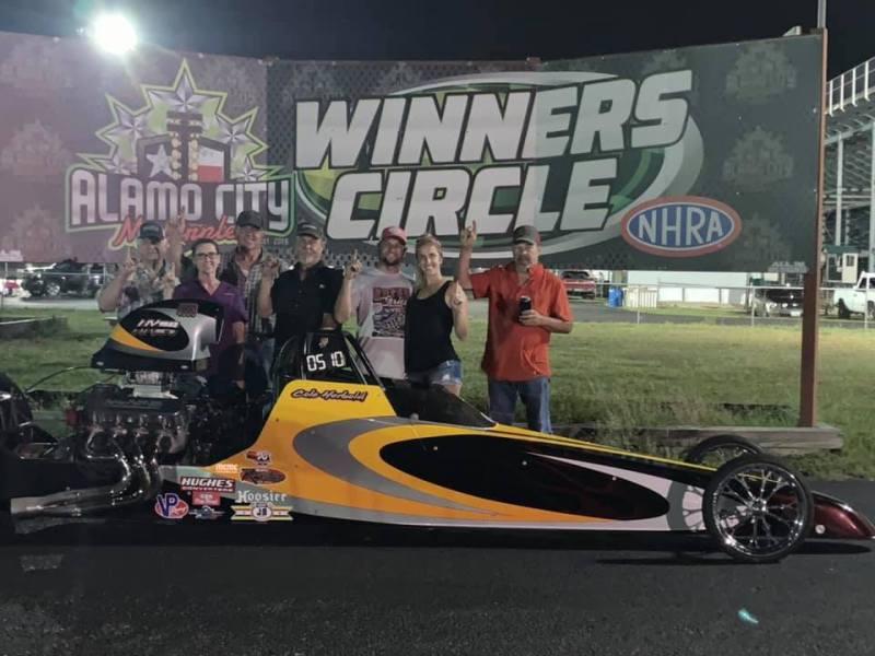 ACM Race 4 Pro winner Cole Herbold