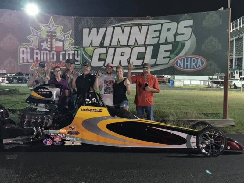 ACM Race 4 Pro winner Cole Herbold