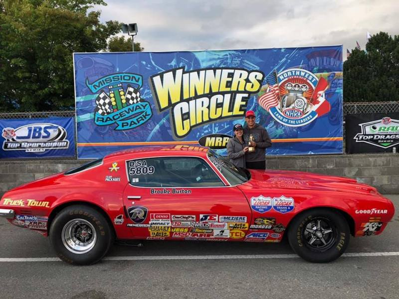 Brad Burton 2019 D6 Lucas Oil Mission Raceway Stock win