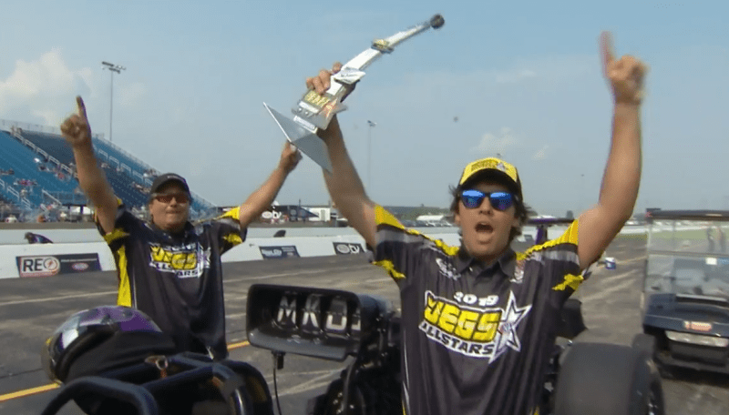 Darian Boesch 2019 Jegs Allstars Top Dragster Champ