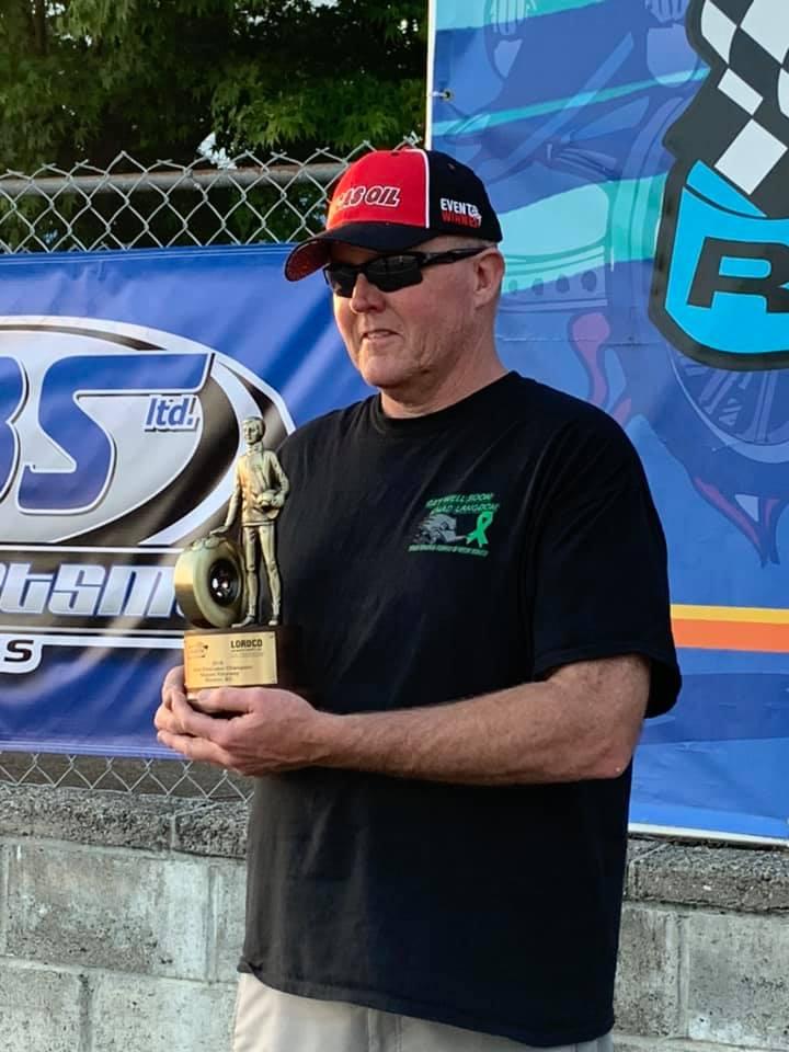 Jody Lang 50th LODRS win at 2019 D6 Mission Raceway