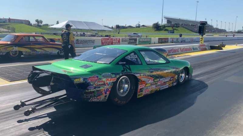 Shawn Carter 2019 Heartland Nationals Super Gas Champ racecar