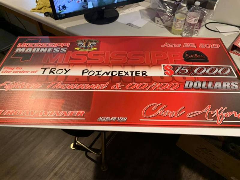Troy Poindexter Big Check Top 10 List