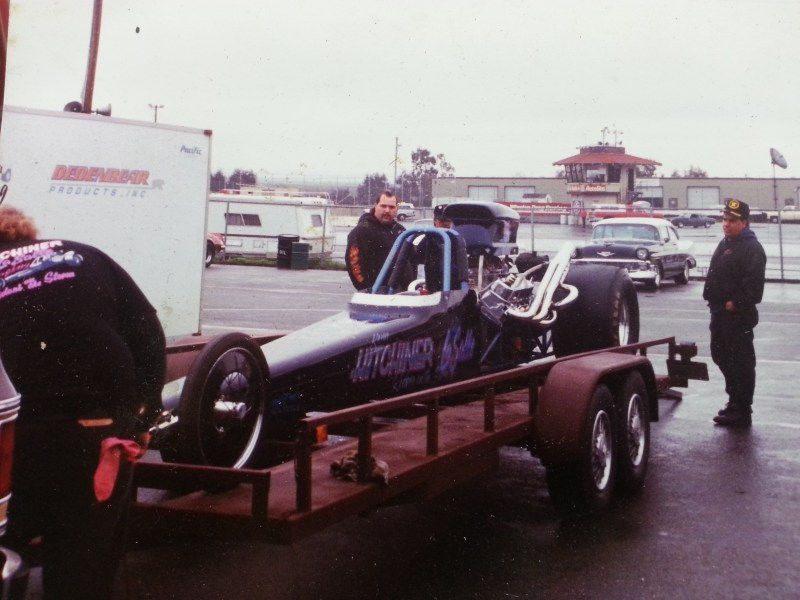 LaSalle racing dragster