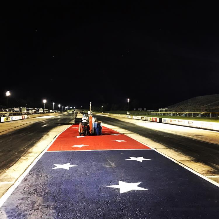 Byron Dragway Track Photo