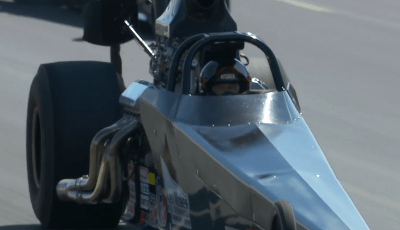 Ken Moses Top Dragster Winner New England nationals