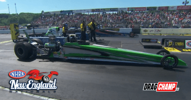 Ken Moses doubles at nhra new england national