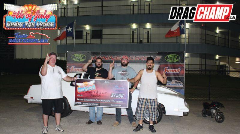 Kody Adcox wins no box 4th of july under the lights 7-6-19 2