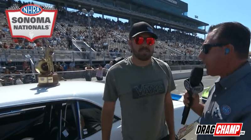 Kyle Rizzoli wins Super Stock at Sonoma Nationals