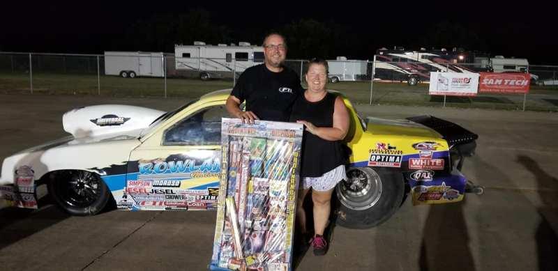 Vernon Rowland Super Gas winner