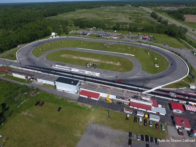 lancaster dragway track aerial photo
