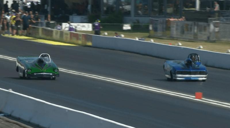 2019 Northwest Nationals Super Gas final round