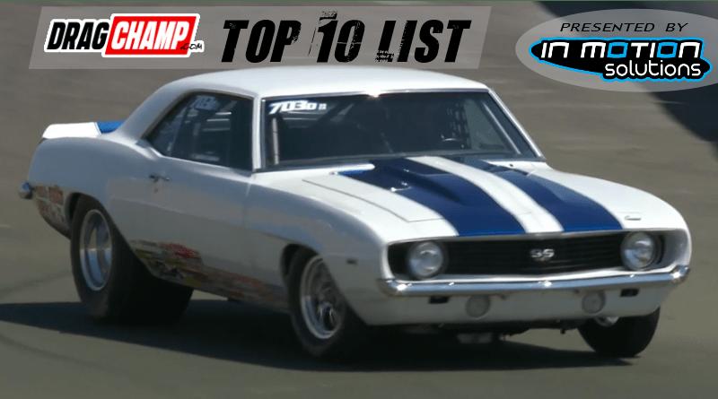 DragChamp Top 10 List 8-7-19 Kyle Rizzoli
