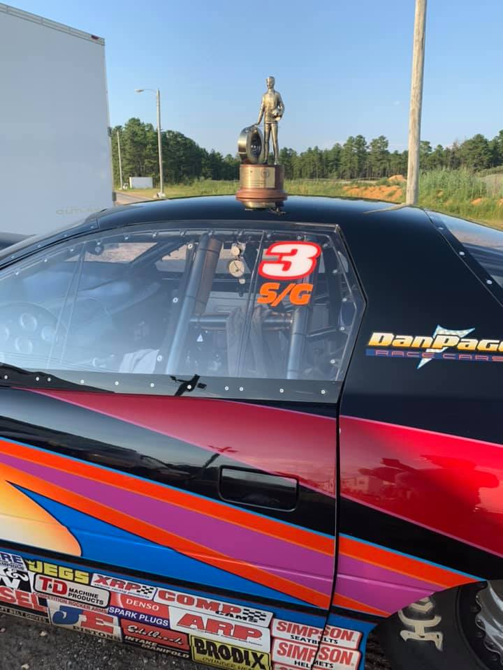 Ray Sawyer wins Super Gas at Atco LODRS