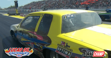 Vernon Rowland wins Super Gas at Lucas Oil Nationals