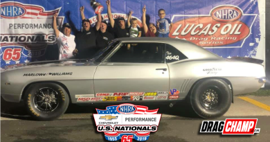 Austin Williams US Nationals Stock champion