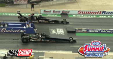 Danny Nelson Top Dragster winner Norwalk Nats