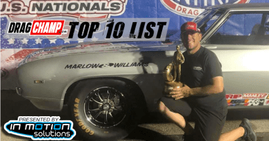 DragChamp Top 10 List Austin Williams 9-5-19