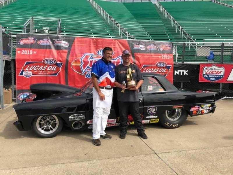 Jeremy Mason Summit Racing Nationals