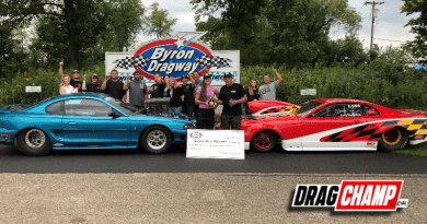 Midwest bracket racing labor day results