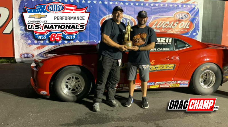Tyler Cassil US Nationals Super Stock champ