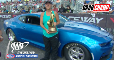 Brina Frank wins Stock at Midwest Nationals