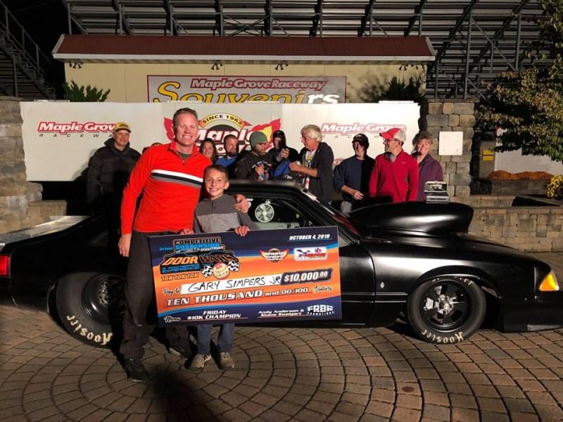Gary Simpers Jr Door Wars Friday winner