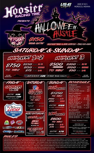 Halloween Hustle Event Flyer
