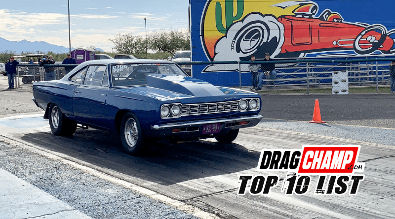 DragChamp Top 10 List 11-27-19