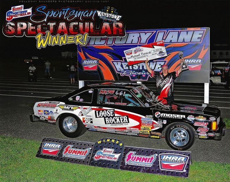 Michael Beard IHRA winner