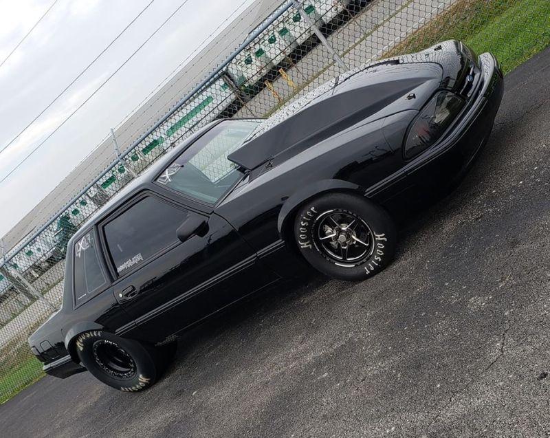 Lucas Walker Black Mustang