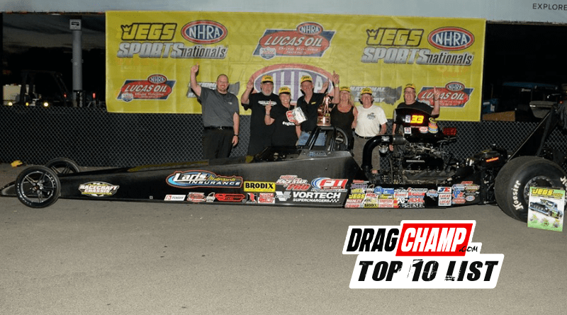 2019 Top Dragster Top Sportsman Top 10 List