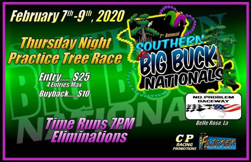 2020 Southern Big Buck Nationals Practice Tree Race