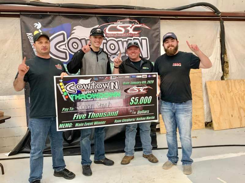 Logan Staab wins cowtown throwdown