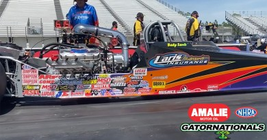 Ross Laris wins Top Dragster at the Gators